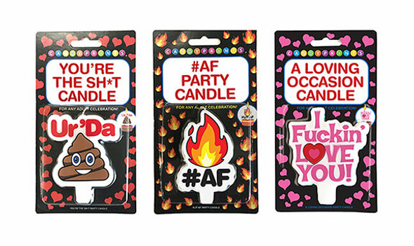 Funny Adult Party Candles - X-Rated Gag Gifts