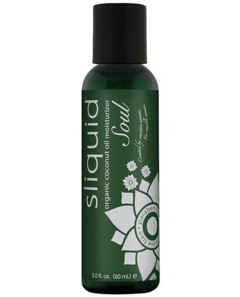 Sliquid Naturals Soul Organic Coconut Oil Lubricant - 2 oz