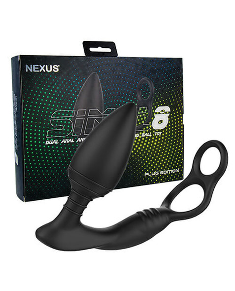 Nexus Simul8 Cock Ring with Vibrating Prostate Plug