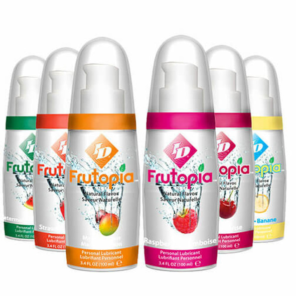 ID Frutopia Natural Flavored Lubricants - Edible Massage