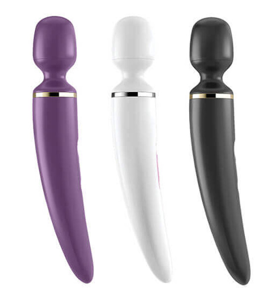 Satisfyer Wand-er Woman Vibrators at Tabutoys.com