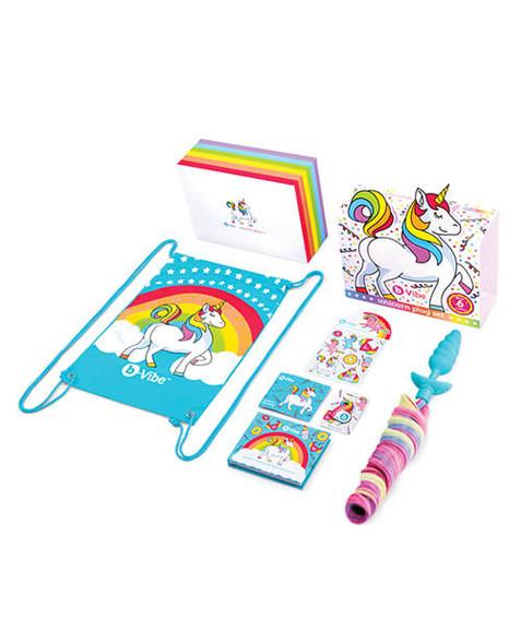 B-vibe Unicorn Plug Limited Edition Set