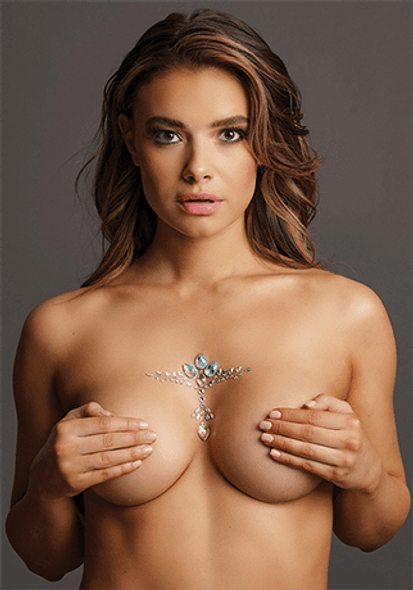 Body Bliss Dazzling Cleavage Bling - Self Adhesive Body Crystals