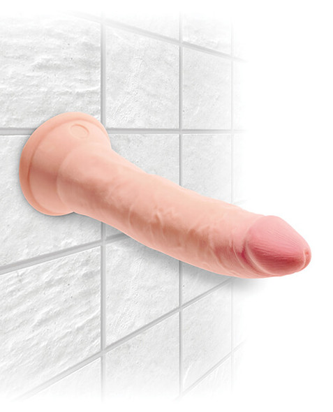 You can stick your waterproof King Cock Plus Triple Density Cocks to the shower wall