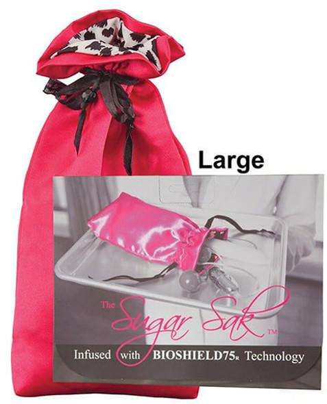 Sugar Sak Anti-Bacterial Toy Bag - Red