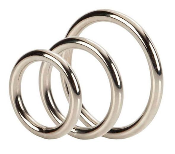Cal Exotics Steel Cock Ring Set