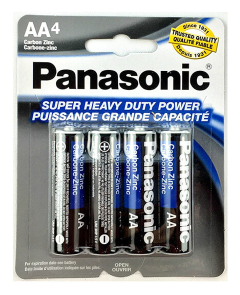Panasonic Super Heavy Duty AA Batteries