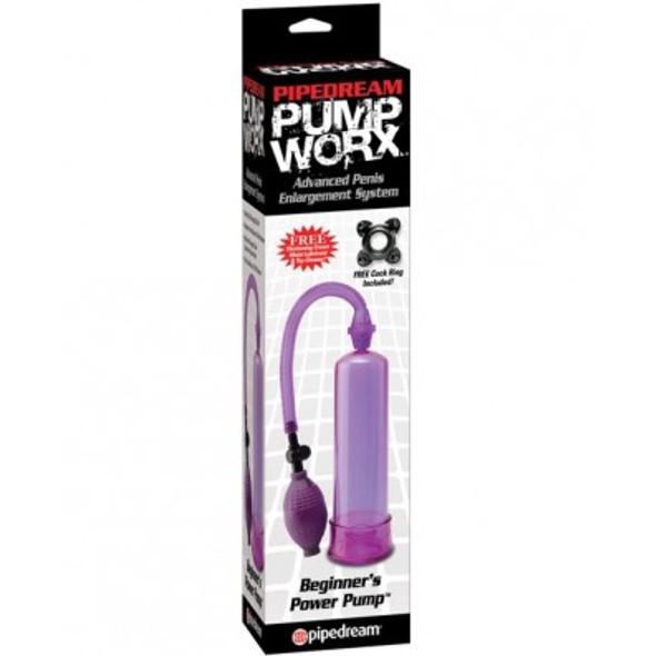 Purple Beginner's Penis Pump