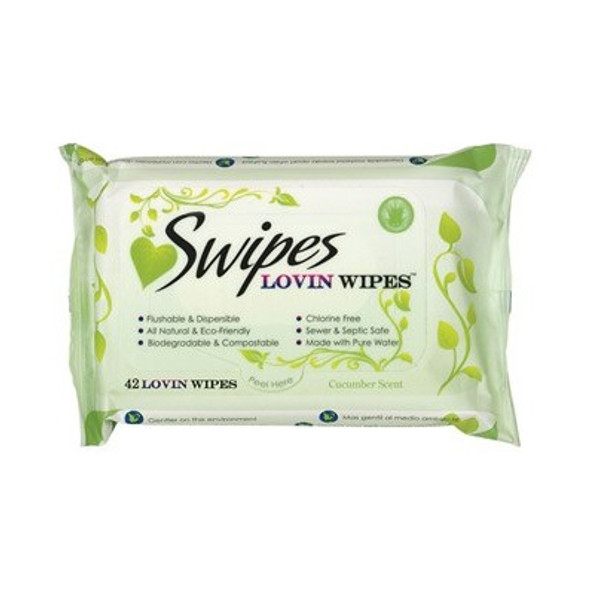 Swipes Soothing Love Wipes - Eco-Friendly Intimate Cleansing