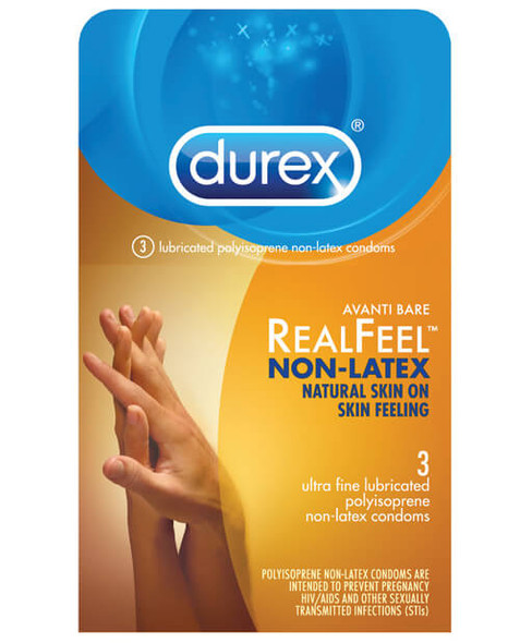 Durex Avanti Real Feel Non-Latex Condoms