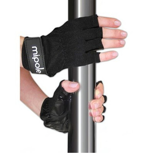 MiPole Pole Dancing Gloves - Black