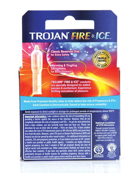 Trojan Fire & Ice Condoms