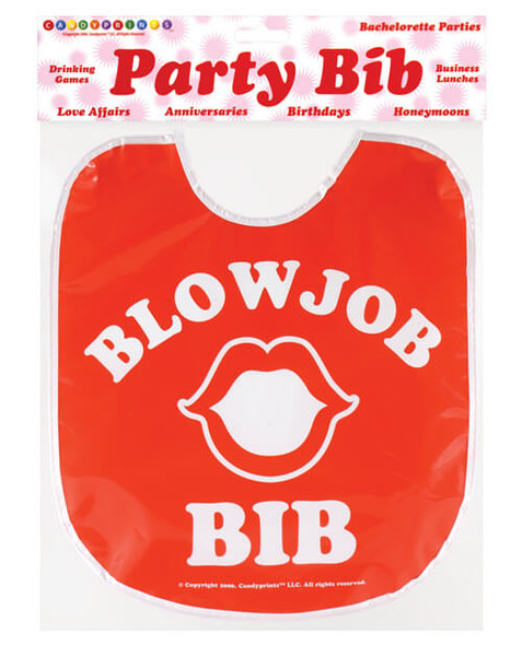 Blow Job Party Bib - Gag Gifts For Adults