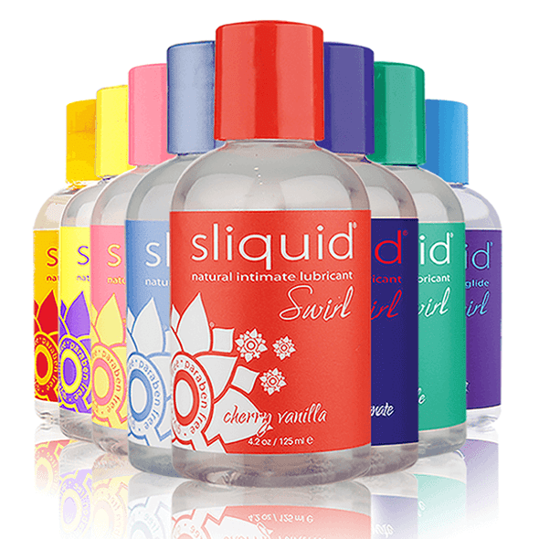 Sliquid Naturals Swirl Flavored Lubricants