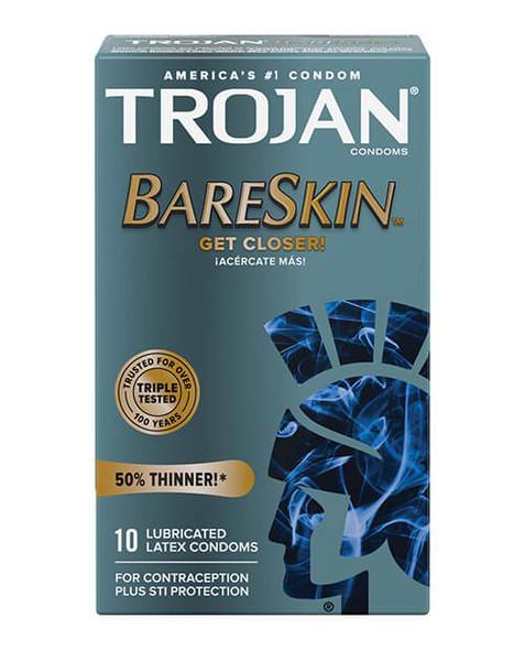 Trojan Bare Skin Condoms - 10 Pack