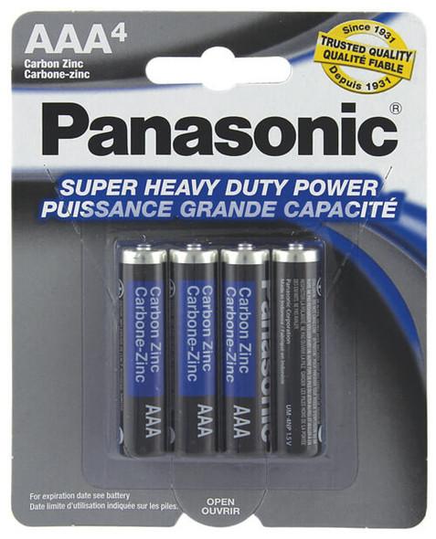 Panasonic Super Heavy Duty AAA Batteries