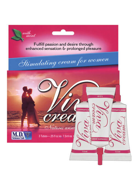 Viva Cream - Box of 3