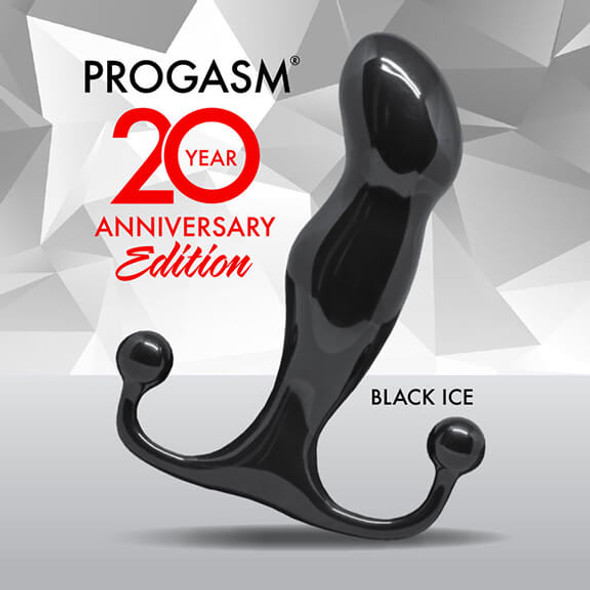 Aneros ProGasm Prostate Stimulator - Black Ice