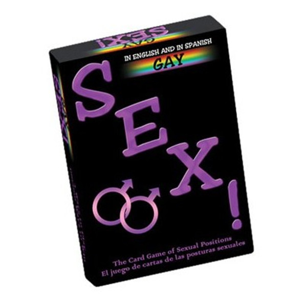 Gay Sex Card Game - for Men
