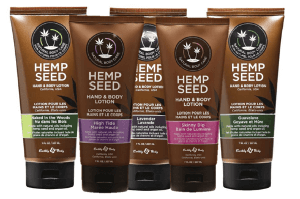 Earthly Body Hemp Velvet Lotion - 100% Vegan and cruelty free