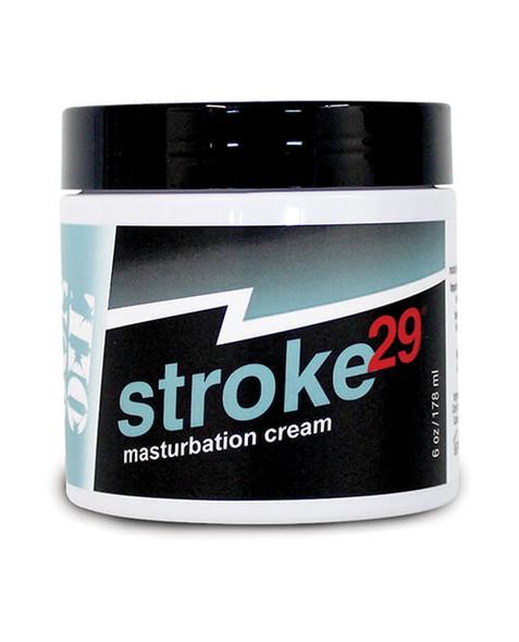 Stroke 29 Male Masturbation Cream - 6 ounce jar
