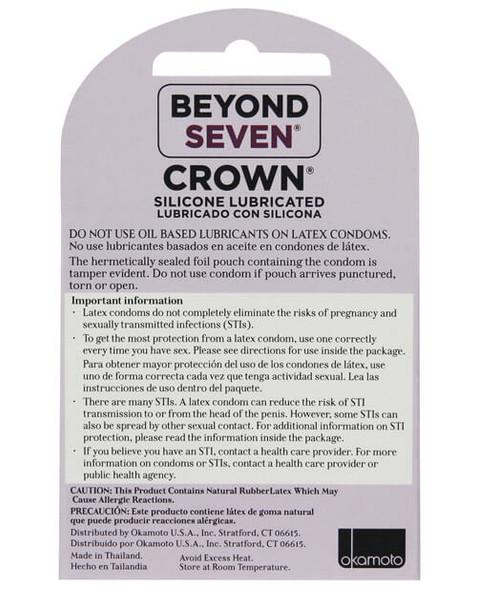 Beyond 7 Crown Condoms