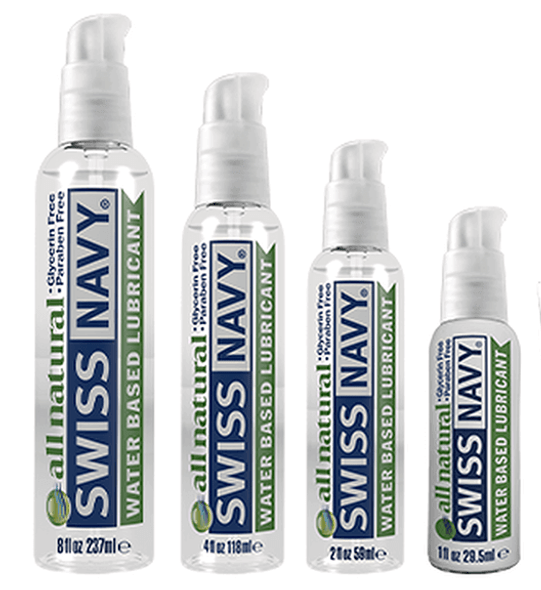 Swiss Navy All Natural Water Based Lubricant - For Sensitive Skin