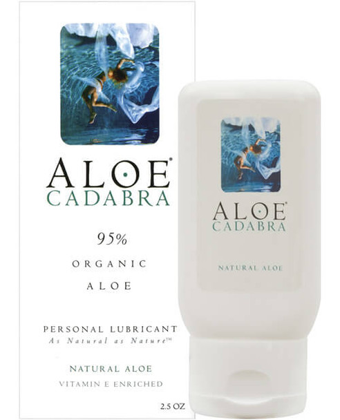 Aloe Cadabra Organic Lubricant - Unscented