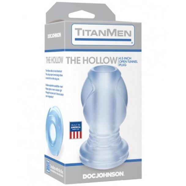 "Titanmen ""The Hollow"" Plug - Clear"