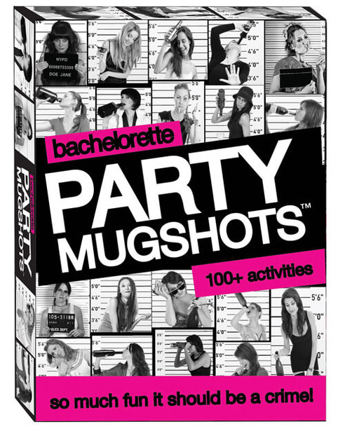 Bachelorette Party Mugshots Card Game - Bachelorette Party Icebreakers