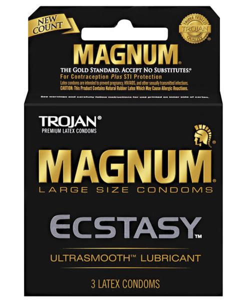 Trojan Magnum Ecstasy Condoms - The Gold Standard of Large Condoms!