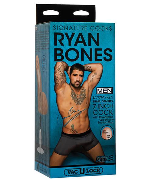 "Signature Cocks: Ultraskyn Ryan Bones 7"""
