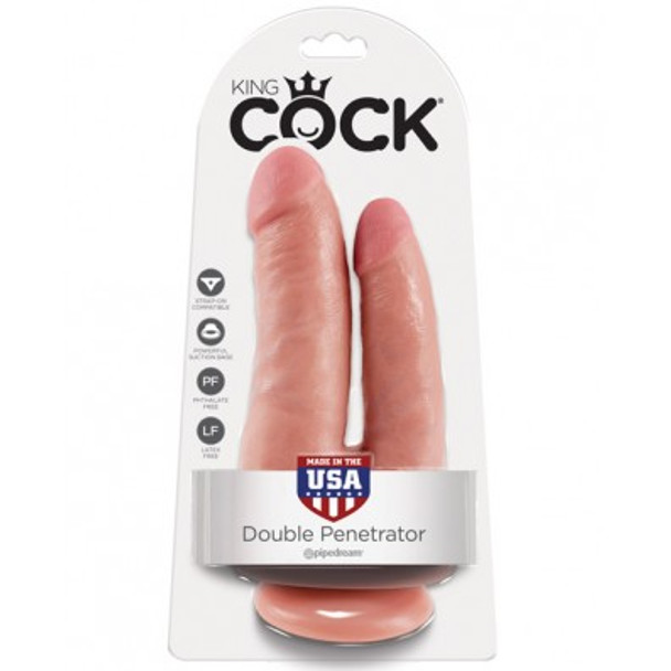 King Cock Double Penetrator - DP Dildo