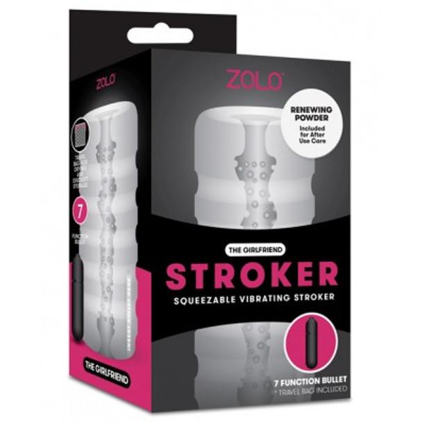 Zolo GF Squeezable Vibrating Stroker for men - Male Masturbation toys