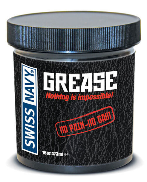 Swiss Navy GREASE Lube - For Big Toys and Fisting