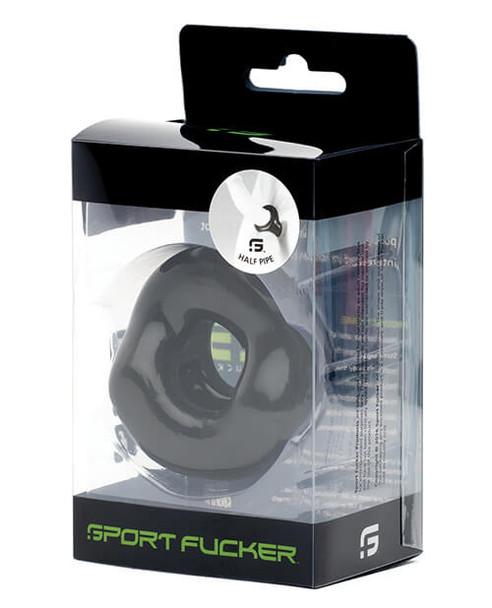 Sport Fucker Half Pipe C & B Ring - Black