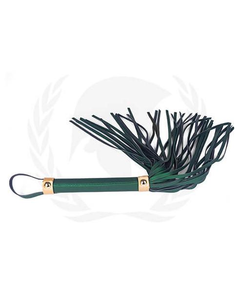 Dark Green Spartacus Vegan Leather Whip
