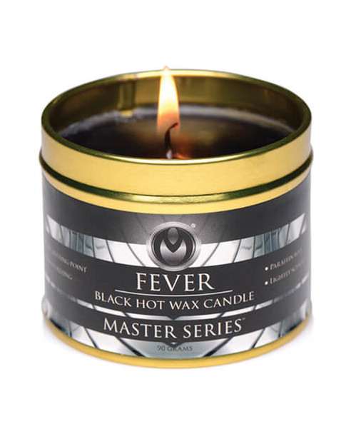 Master Series Fever Black Hot Wax Candle