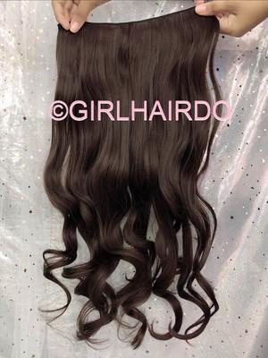 H005/6 Dark Brown Hair Extensions