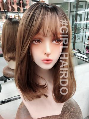 G6120 honey brown skin wig