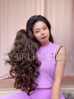 #6 Dark Brown Curls