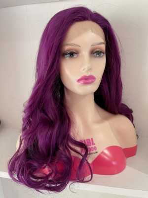 Lace wig free parting