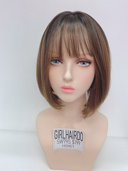 GIRL HAIRDO SW79S HONEY SHORT BOB