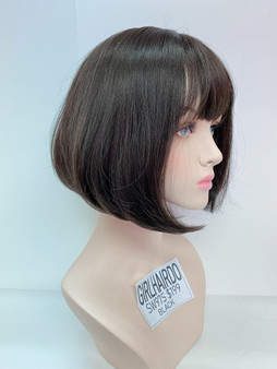 GIRL HAIRDO SW79S BLACK SHORT BOB WIG