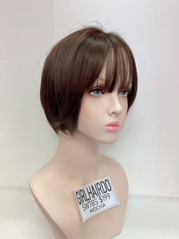 GIRL HAIRDO SW78S MOCHA SHORT WIG