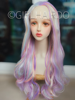 Candy lace wig