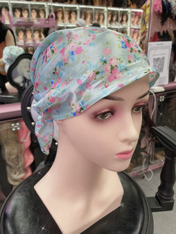 Soft head cover tiny flowers
