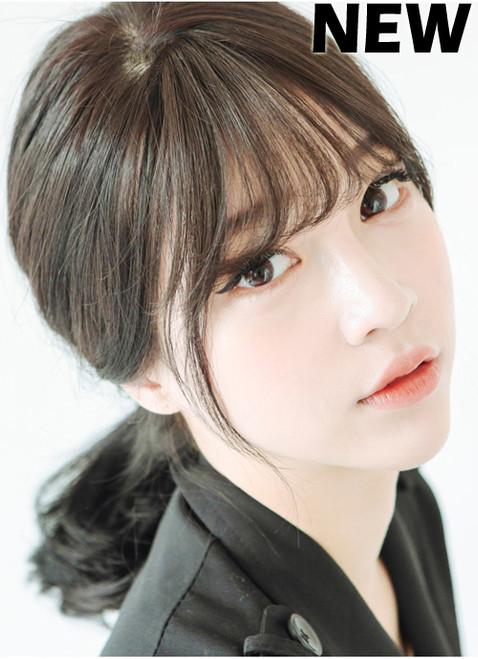 Korean Bangs Thin Version Non Shiny Girlhairdo Com Singapore Hair