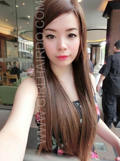 long straight rebonded wig by girlhairdo