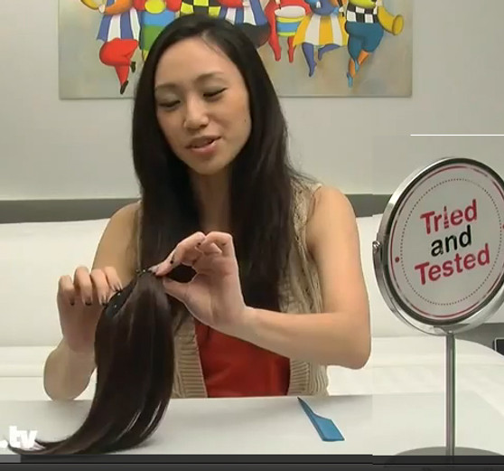 FRINGE ♥ Tried&Tested PREMIUM Hair Piece for Volume.Multi Use.